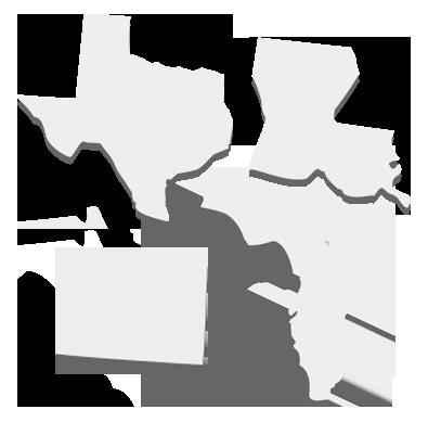 Texas, Louisiana, Colorado & Florida